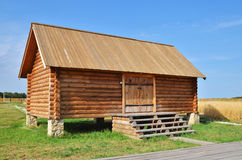 Traditional russian rural wooden house Royalty Free Stock Photos