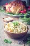 Traditional Russian salad stock photos