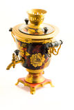 Traditional russian samovar Stock Images