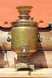 Traditional Russian samovar. Royalty Free Stock Images