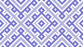 Seamless traditional Russian and slavic ornament. Pattern based on Traditional ethnic Russian and slavic ornament.DISABLING LAYER, you can obtain seamless royalty free illustration