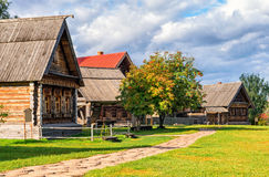 The traditional russian village in Suzdal Royalty Free Stock Photo