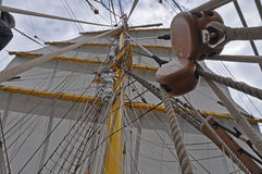 Traditional sail rig Royalty Free Stock Photos