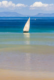 Traditional sailboat Royalty Free Stock Photos