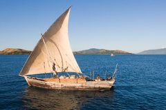 Traditional sailboat Royalty Free Stock Photo