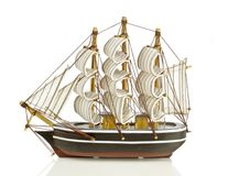 Traditional sailing ship Stock Image