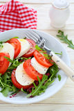 Traditional salad Caprese Royalty Free Stock Image
