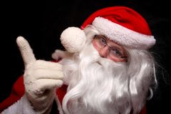 Traditional Santa Claus Royalty Free Stock Image