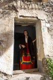 Traditional sardinian costume Royalty Free Stock Photos