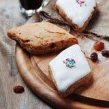 Traditional sardinian sweets papassini Stock Image