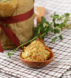 Traditional sauce dijon mustard Royalty Free Stock Images
