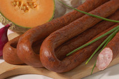 Traditional sausage Royalty Free Stock Images