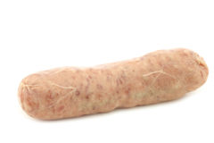 Traditional sausage called bratwurst Royalty Free Stock Photo