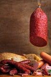 Traditional sausages Stock Photos