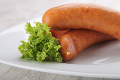 Traditional sausages Royalty Free Stock Photography