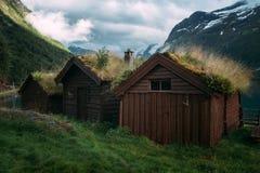 Traditional Scandinavian Home Stock Photo Image Of