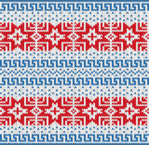 Traditional Scandinavian pattern. Royalty Free Stock Photos