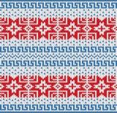 Traditional Scandinavian pattern. Royalty Free Stock Photos