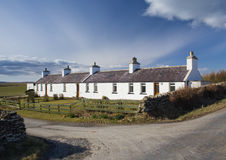 Traditional Scottish cottages Stock Images