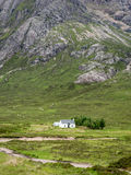 Traditional Scottish crofters cottage Royalty Free Stock Photo