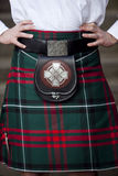Traditional Scottish outfit Royalty Free Stock Photo
