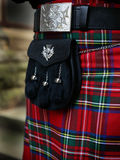 Traditional Scottish outfit Stock Photos