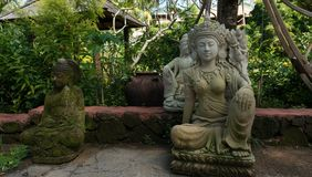 Traditional sculptures of Bali Stock Photography