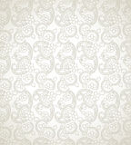 Traditional seamless floral wallpaper Royalty Free Stock Photo