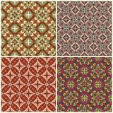 Traditional seamless pattern Stock Image