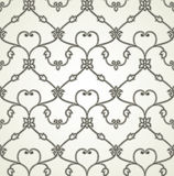 Traditional seamless royal wallpaper Stock Image