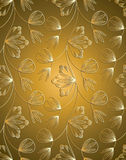 Traditional seamless wallpaper Royalty Free Stock Image