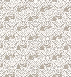 Traditional seamless wallpaper Stock Photography