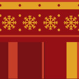 Traditional seamless winter pattern Royalty Free Stock Photo