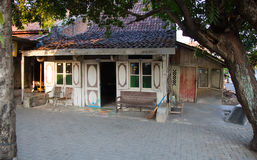 Traditional Semarang house Stock Images