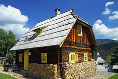 Traditional Serbian house Royalty Free Stock Photography