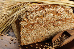 Traditional sesame bread Stock Photos