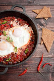 Traditional shakshuka Royalty Free Stock Photo