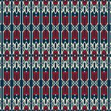Traditional shapes seamless pattern. Abstract pattern of indonesian batik Stock Photography