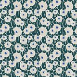 Traditional shapes seamless pattern Royalty Free Stock Photos
