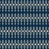 Traditional shapes seamless pattern Stock Image