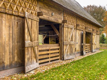Traditional Shed in Dutch Building Style, Drenthe, Netherlands Royalty Free Stock Photography