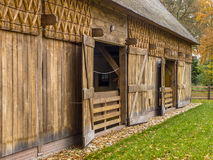 Traditional Shed in Dutch Building Style, Drenthe, Netherlands Royalty Free Stock Images