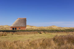 Traditional sheep barn on Texel, The Netherlands Royalty Free Stock Photo