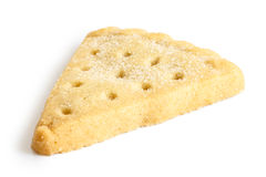 Traditional shortbread biscuit. Royalty Free Stock Images