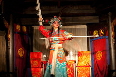 Traditional Sichuan Chinese Opera Stock Photography