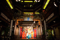 Traditional Sichuan Chinese Opera Royalty Free Stock Photo