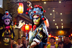 Traditional Sichuan Chinese Opera Royalty Free Stock Image