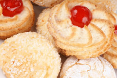 Traditional sicilian almond pastry royalty free stock photos