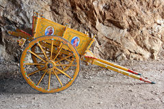 Traditional Sicilian cart Stock Image