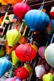 Traditional silk lanterns Royalty Free Stock Photo